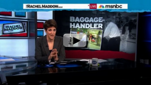 Rachel Maddow's George Rekers Expose Play Button