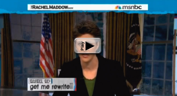 Maddow for President