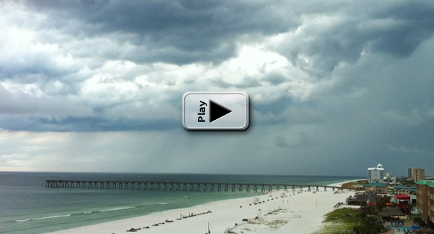 Pensacola Thunderstorm Play Button