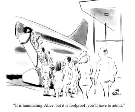 Airport Security Cartoon from the NYTimes
