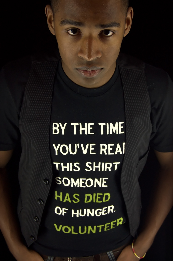 Hunger by The Factionist - ethical apparel @ Flickr, CC