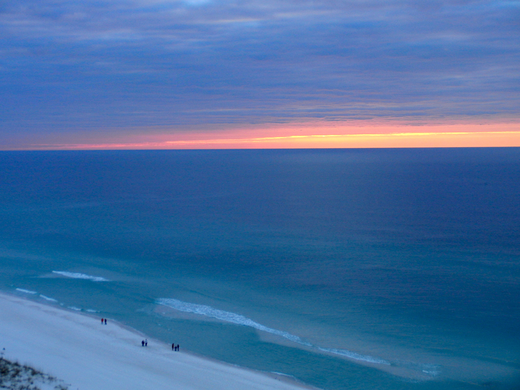 Pensacola: Sunrise on The Gulf of Mexico