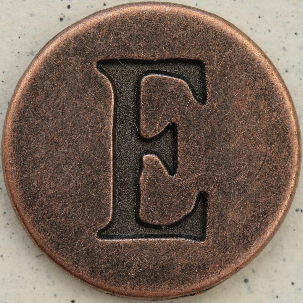 "The Letter ""E"" by Leo Reynolds@ Flickr Creative Commons"
