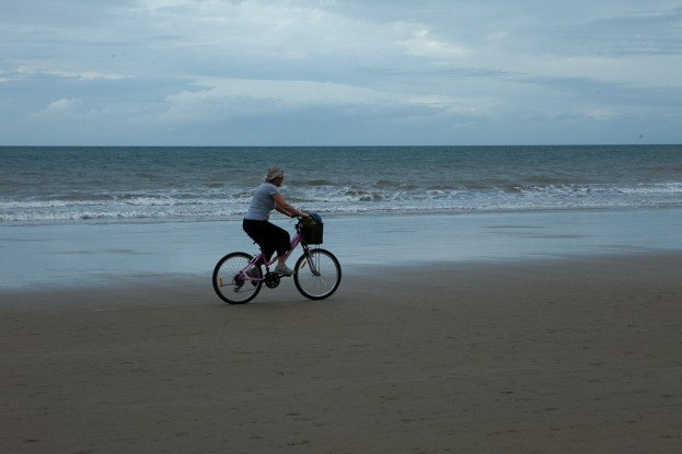 4 Mile Beach Bicyclist