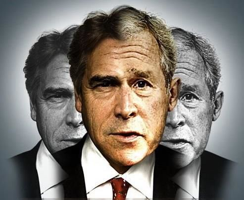 George W. Bush - Rick Perry - Facial Composite