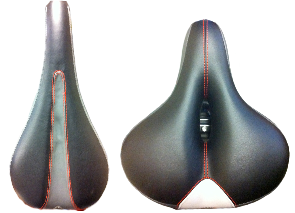 Bike Seat Top View (The Poshterior)