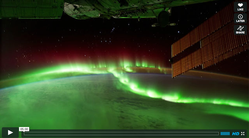 Stunning Time-Lapse of Earth from NASA