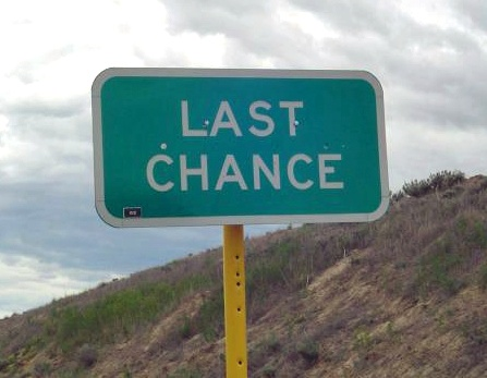 Today's Your Last Chance