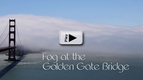 Golden Gate Fog Time Lapse Play Button