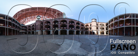 Fort Point Central Courtyard Play Button