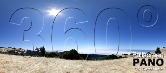 Mount Tamalpais Pano Play Button