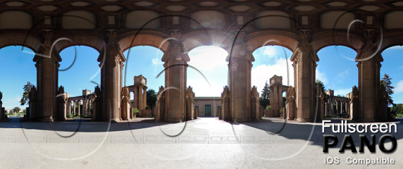 The Lovely Palace of Fine Arts