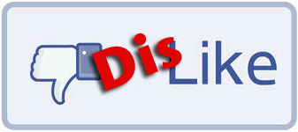 Dis-like Button (Facebook Style_