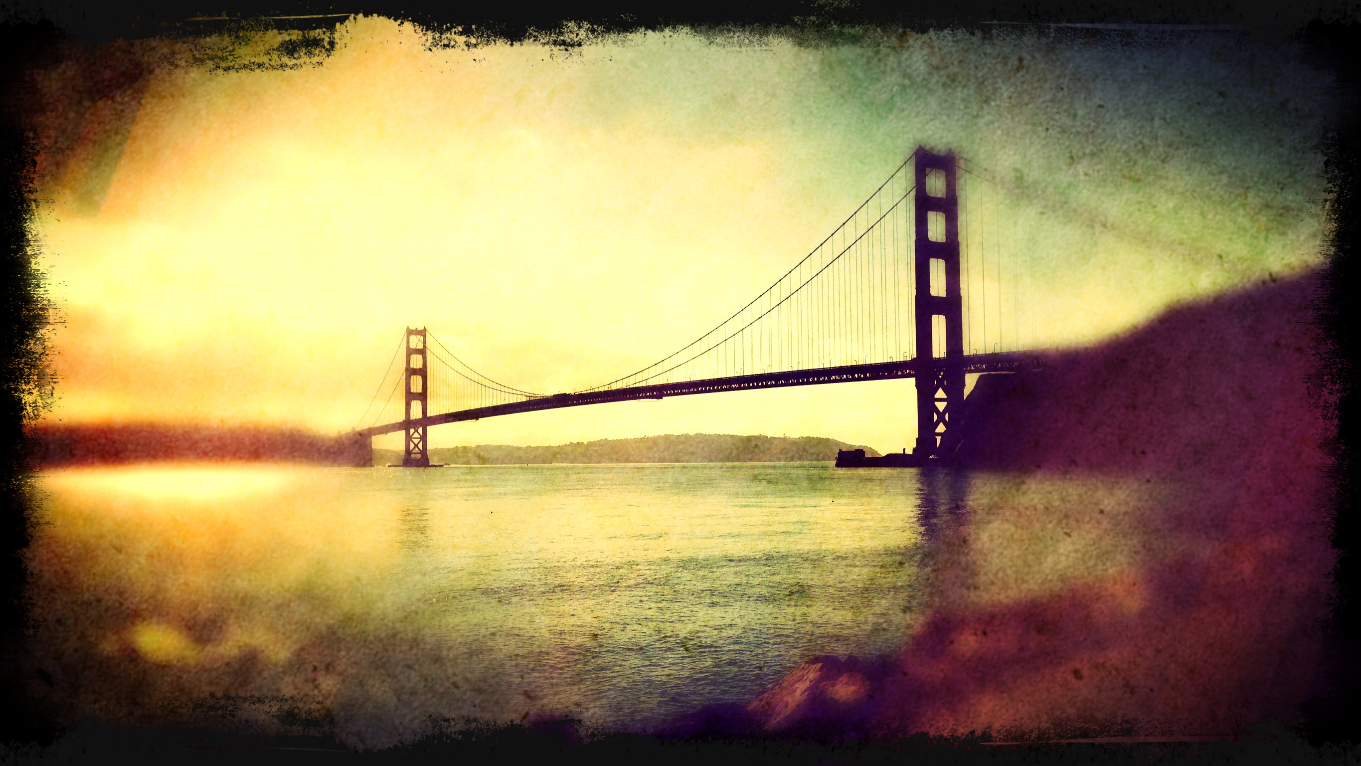 Golden Gate Bridge edited in Photoforge2