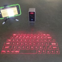 Laser Keyboard on Counter Top
