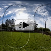 Yard pano play button