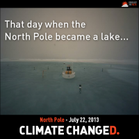 The Day The North Pole Melted