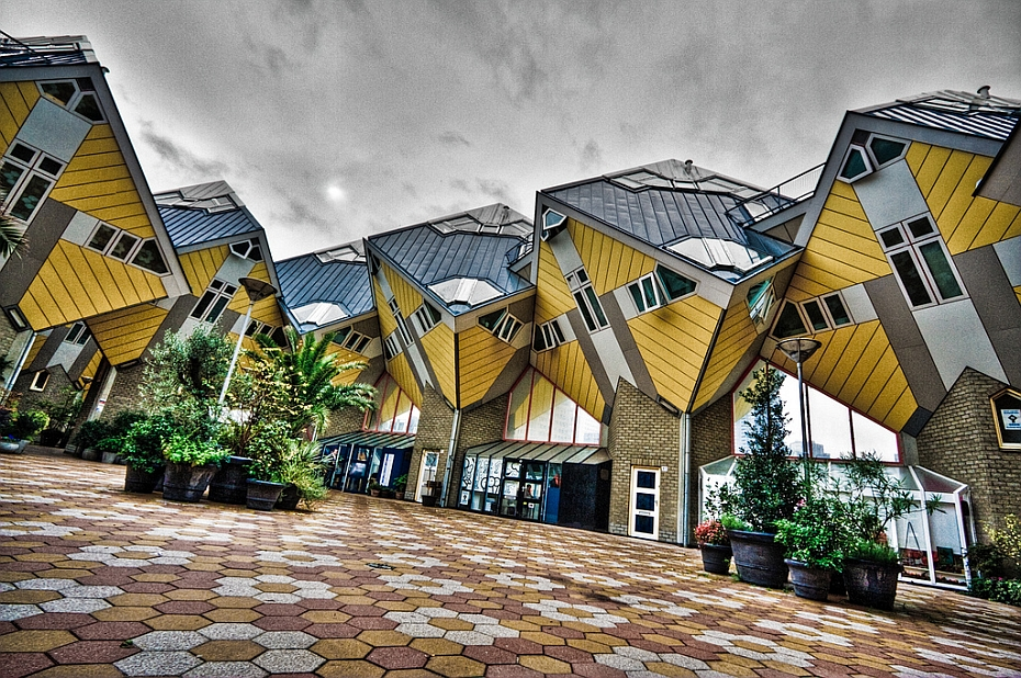 Dutch Cube Houses