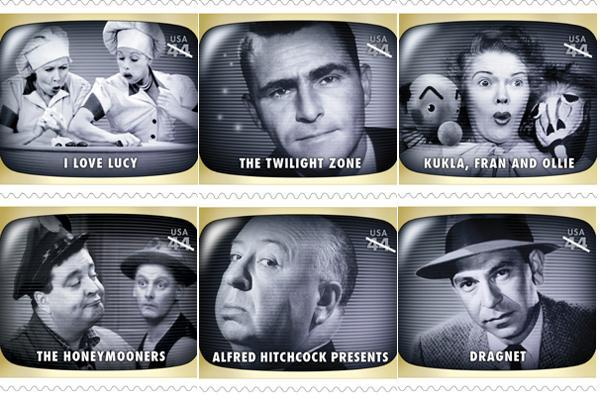 Golden Age TV Stamps