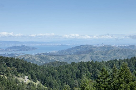 The Bay Area from the West Peak of Mount Tamalpais
