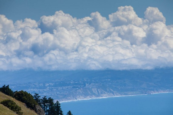 South of the City from the West Peak of Mount Tamalpais