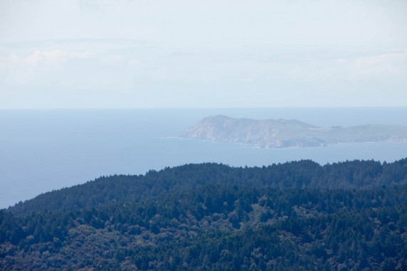 Point Reyes from the West Peak of Mount Tamalpais