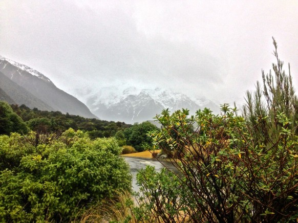 The Invisible Mount Cook