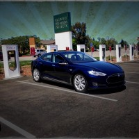 Nick at the Vacaville Tesla Super Charger