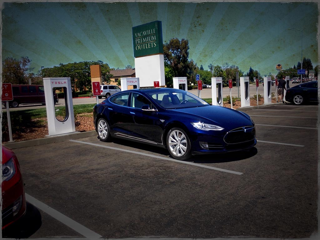 Tesla Road Trip: Vacaville Supercharger