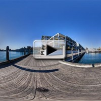 Dock for Hotel Blue, Sydney, Play Button
