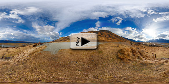 Mt. Cook HDR Play Button