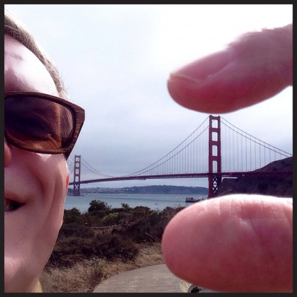 Golden Gate Bridge in My Hand