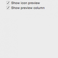 Finder Viewing Options