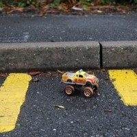 Town in Wales Creates Nine Inch Wide Parking Space