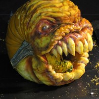 Creepy Pumpkin Carvings by Jon Neill