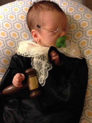 Best Ruth Baby Ginsberg Halloween Costume