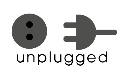 Unplugged graphic