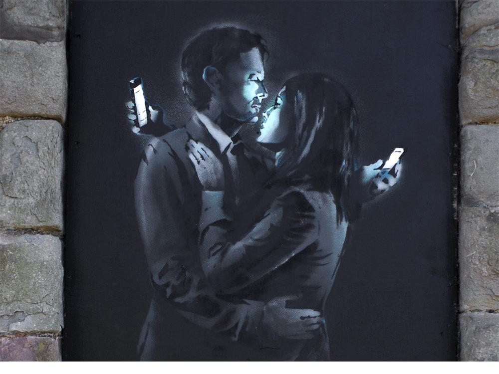 Let's Chat about Banksy Graffiti