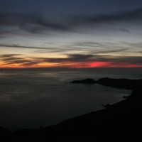 Our Thanksgiving Sunset of Point Bonita (PoBo)