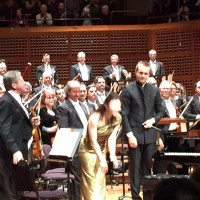 Sa Chen with Conductor Vasily Petrenko and the San Francisco Symphony