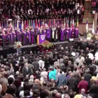 President Obama Sings Amazing Grace At Pinckney Eulogy