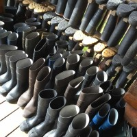 Boots at Bear Track Inn
