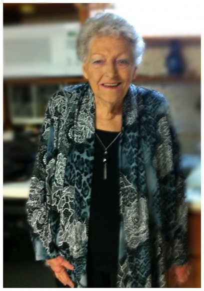 A recent photo of mother