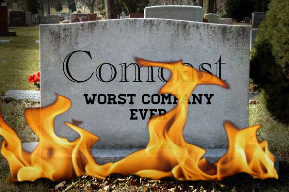 Comcast Tombstone