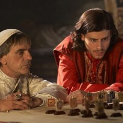 Jeremy Irons, Francois Renaud, the Borgias