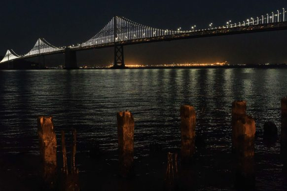 Bay Bridge (night time)