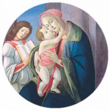 Botticelli - Madonna and Child with an Angel - Bob Jones University