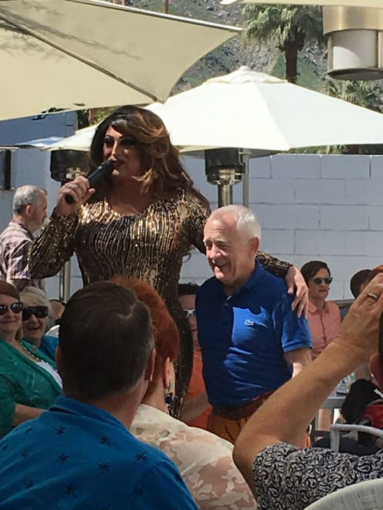 A Very Sordid Wedding Brunch: Leslie Jordan with a Drag Queen