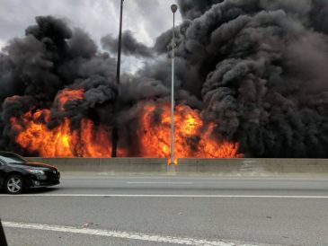 I-85 Bridge Fire