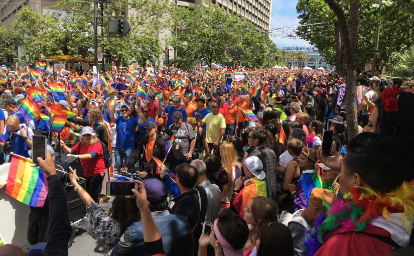 Apple at San Francisco Gay Pride
